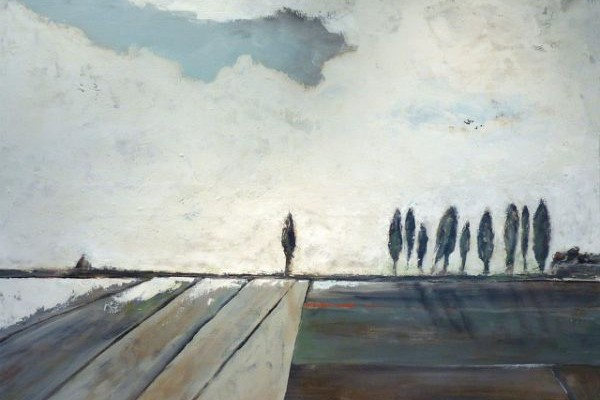 New Paintings by Philippe Roussel