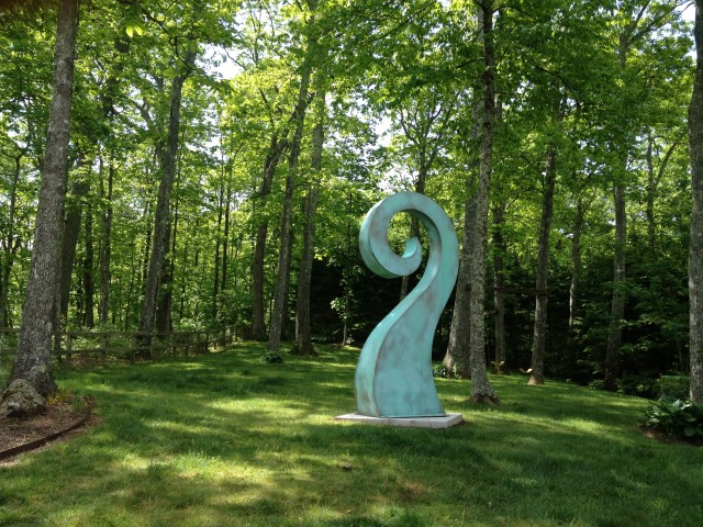 """Fiddlehead"" by Mark Connelley"