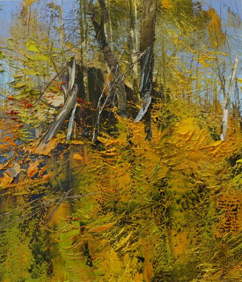 """""""10 October 2015"""" Oil on canvas, 26"""" x 30""""<br /><strong>- <a class=""""inquireLink"""" href=""""JavaScript:newPopup('http://thehaengallery.com/inquiry-form/?subject=Lynn Boggess: 10 October 2015');"""">Please inquire</a> -</strong>"""