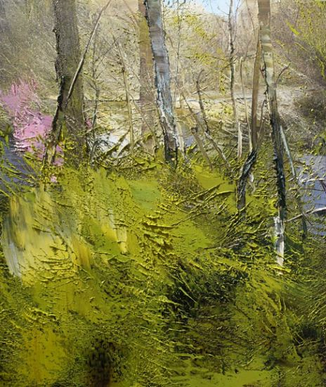 """""""20 April 2015"""" Oil on canvas, 26"""" x 30""""<br /><strong>- <a class=""""inquireLink"""" href=""""JavaScript:newPopup('http://thehaengallery.com/inquiry-form/?subject=Lynn Boggess: 20 April 2015');"""">Please inquire</a> -</strong>"""