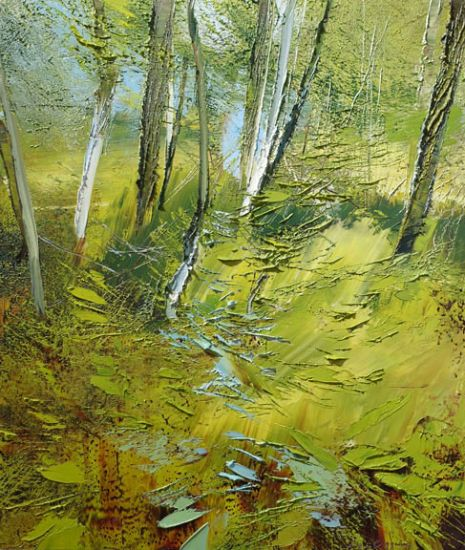 """""""26 May 2015"""" Oil on canvas, 26"""" x 30""""<br /><strong>- <a class=""""inquireLink"""" href=""""JavaScript:newPopup('http://thehaengallery.com/inquiry-form/?subject=Lynn Boggess: 26 May 2015');"""">Please inquire</a> -</strong>"""