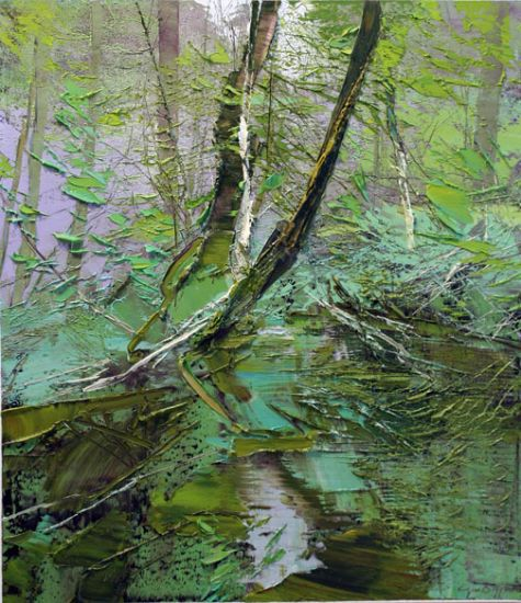 """""""26 June 2014"""" Oil on canvas, 26"""" x 30""""<br /><strong>- <a class=""""inquireLink"""" href=""""JavaScript:newPopup('http://thehaengallery.com/inquiry-form/?subject=Lynn Boggess: 26 June 2014');"""">Please inquire</a> -</strong>"""