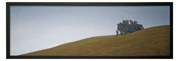 """March"" Oil on panel, 68.5"" x 24""<br /><strong>- SOLD -</strong>"